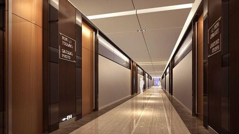 Фальшпол для коридоров путей эвакуации