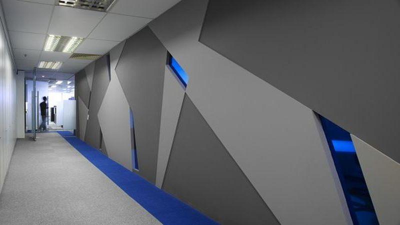 Фальшпол для коридоров и путей эвакуации